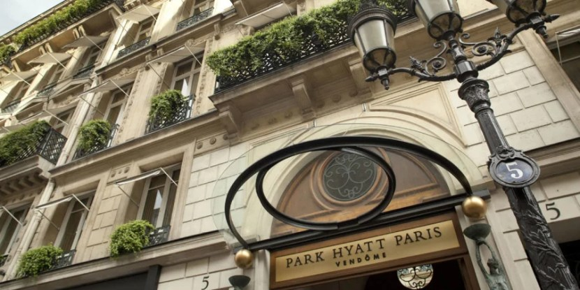 Get two free nights at a Category 7 property like the Park Hyatt Paris-Vendôme with the Hyatt Credit Card.