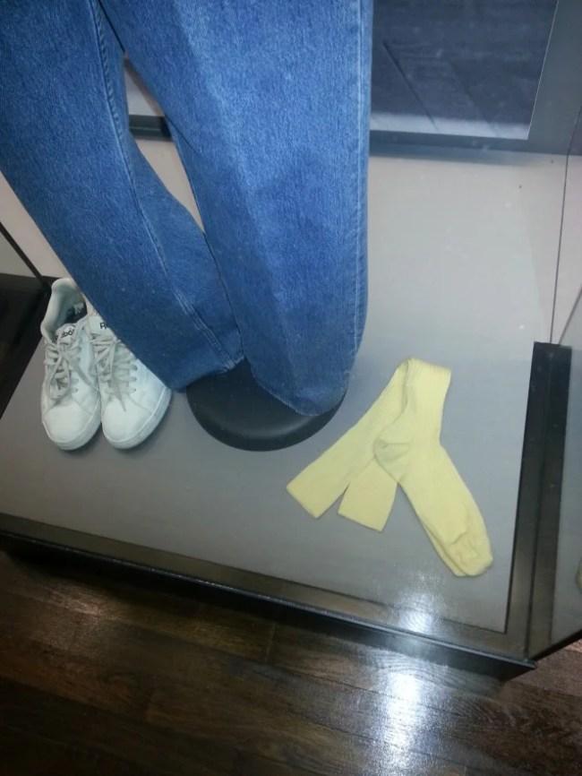 Helmut Lang's Socks