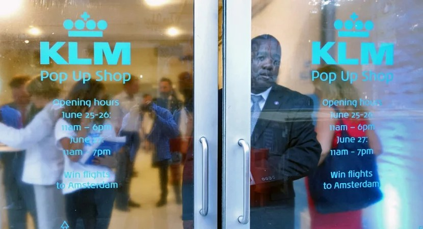 KLM Pop-Up Featured