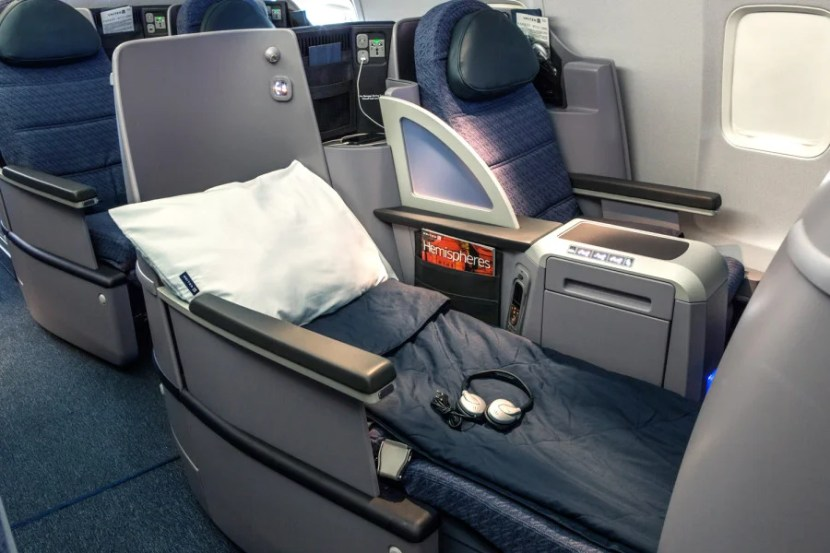 BusinessFirst passengers can expect a lie-flat seat, improved meals and a more respectable selection of alcoholic beverages.