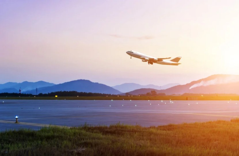Watching planes safely take off and land can be beneficial. Photo courtesy of Shutterstock.