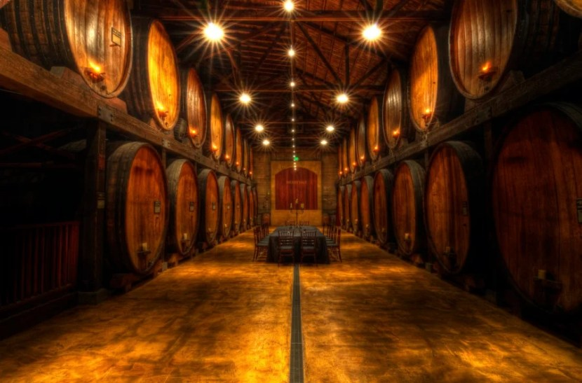 The stunning cask room at Merryvale, one of many venues for Festival del Sole events. Photo courtesy of Mr. Jason Hayes / Flickr