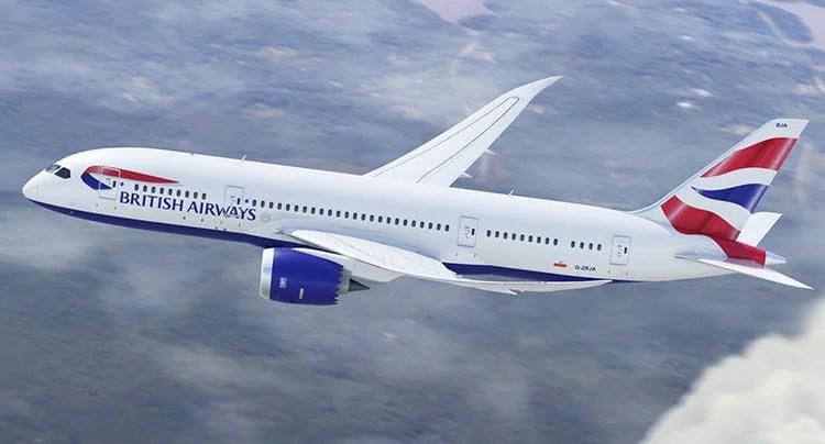 British Airways 787-8