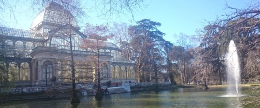 The Crystal Palace in the Retiro Park.