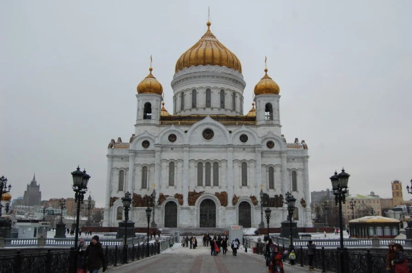 Cathedral of Christ the Saviour. Photo by Katie Hammel.