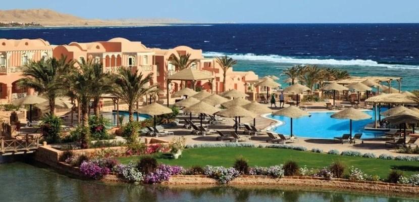 The gorgeous Radisson Blu Resort in El Quseir, Egypt.