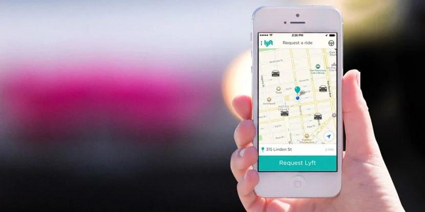 Lyft-App-phone