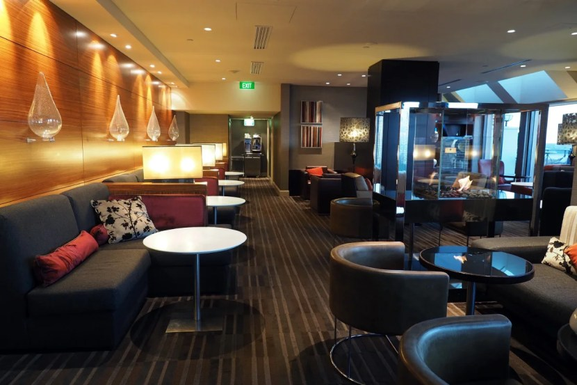 The Club Lounge at Sheraton on the Park.