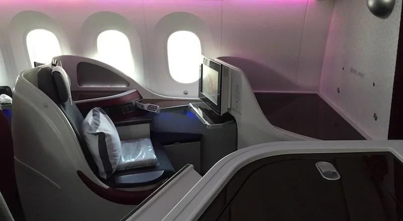 Flight Review Qatar Airways 787 8 Business Class Sin Doh