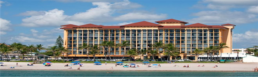 The Wyndham Deerfield Beach Resort is just north of Ft. Lauderdale in a secluded, scenic section of beach.