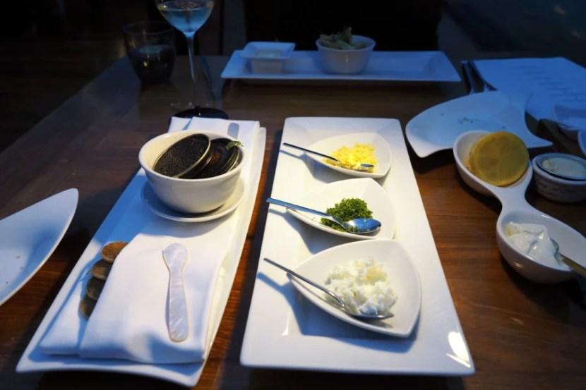Ithaa Underwater Restaurant - Caviar