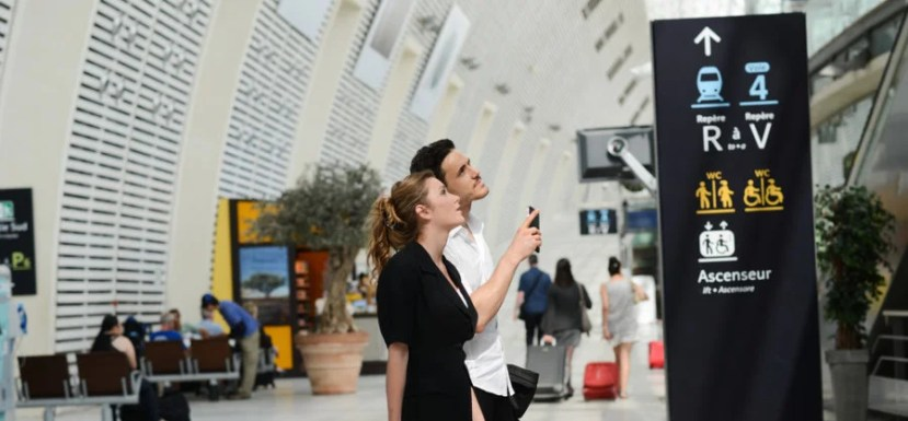 Public transportation from the airport will likely be the cheapest option. Image courtesy of Shutterstock.