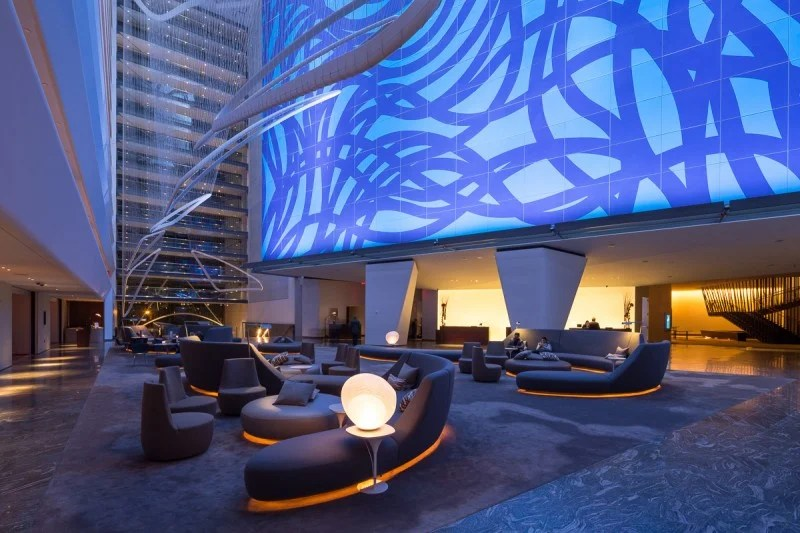 The Conrad New York's lobby.