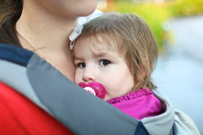 My oldest daughter spent many hours in our Ergobaby carrier – she loved it!