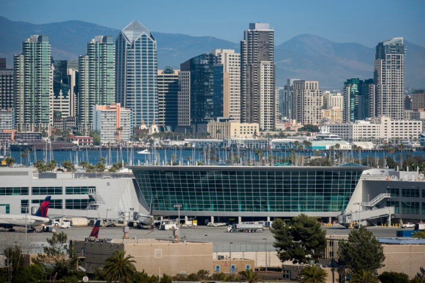 San Diego's Terminal 2 is the first LEED Platinum-certified airport terminal in the world. Photo courtesy of San Diego County Regional Airport Authority.