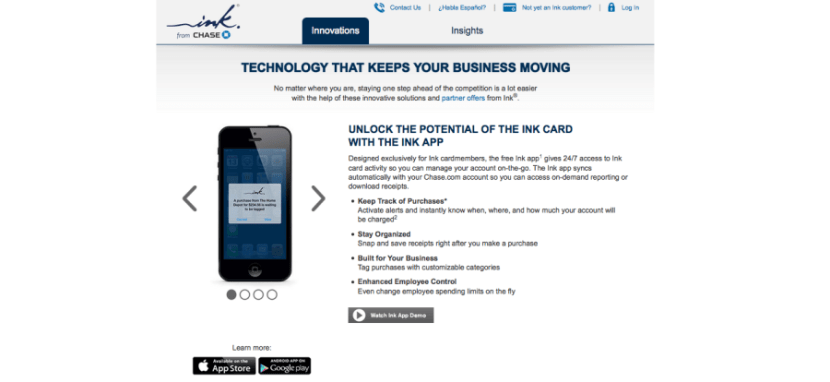 Chase offers business cardholders benefits through its Ink Insider program.