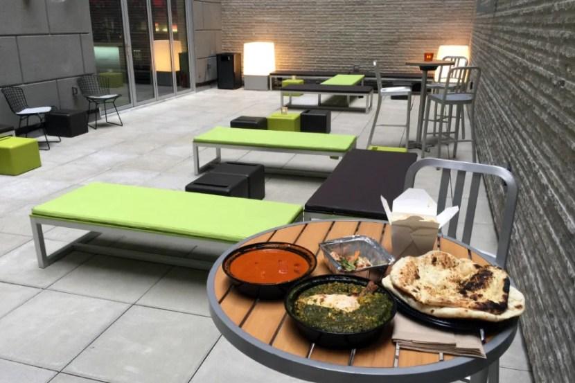 Dinner from Benares, an Indian restaurant on Seamless.