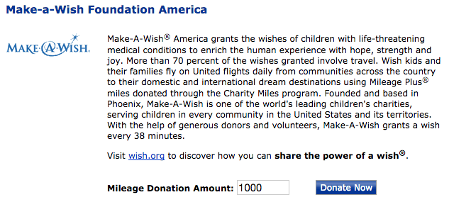 You can do some good while also benefiting your frequent flyer account.