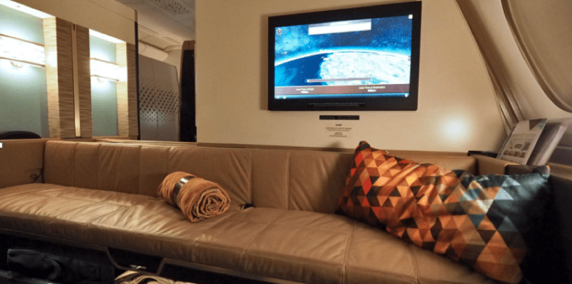 You can redeem AAdvantage miles for Etihad's First Apartment, found exclusively on the airline's A380.