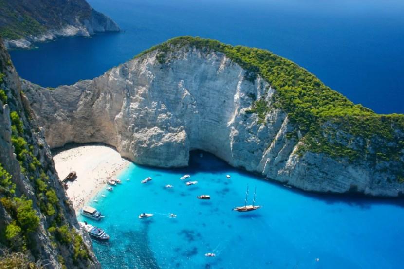 "So beautiful, it might merit some instability. Photo courtesy of <a href=""http://www.shutterstock.com/pic-206795179/stock-photo-amazing-navagio-beach-in-zakynthos-island-greece.html?src=llte-6Q1_CFTWf5RbgaeqQ-1-10"">Shutterstock</a>"