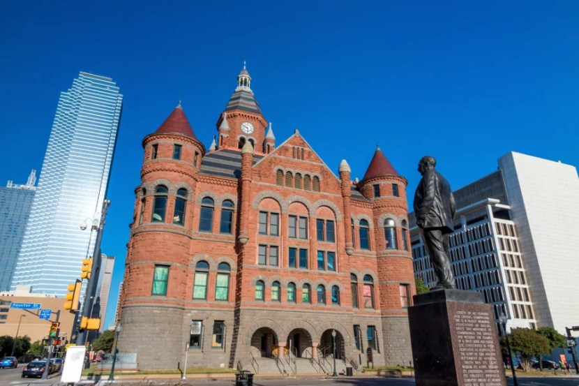 Dallas' Old Red Museum. Photo courtesy of Shutterstock.