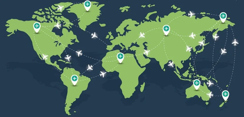 A flight attendant's routes are generally based on a combination of bidding and seniority  and aren't guaranteed. Image courtesy of Shutterstock.