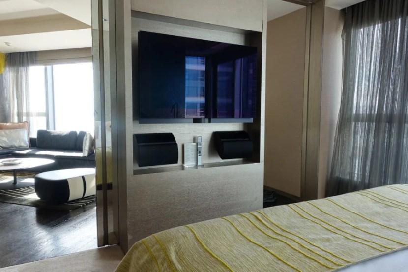 Fantastic Suite bedroom.