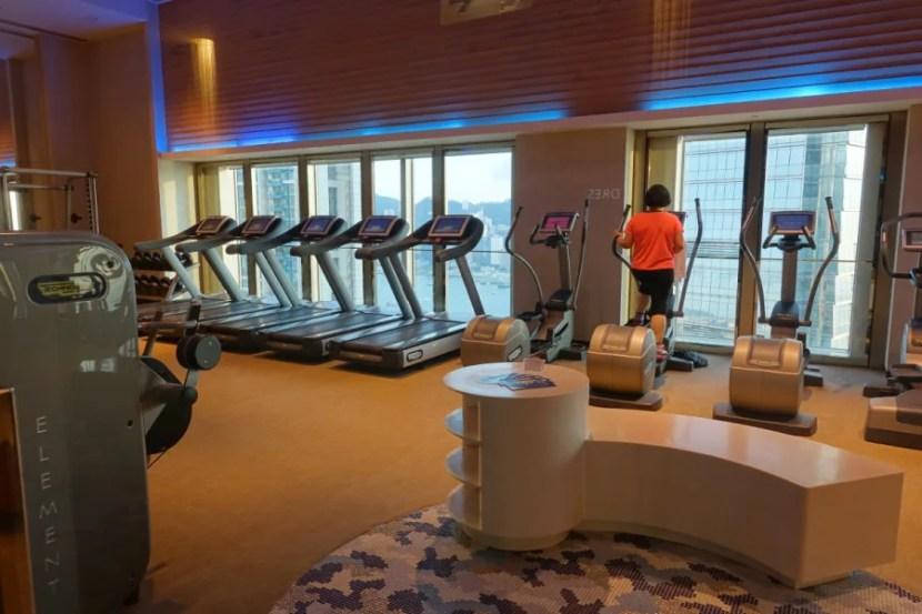 W Hong Kong gym.