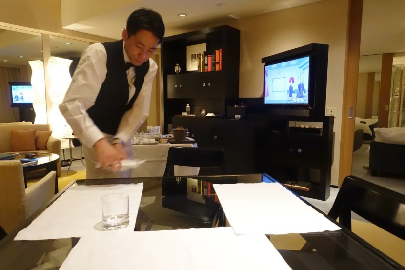 Room service rates are actually pretty reasonable.