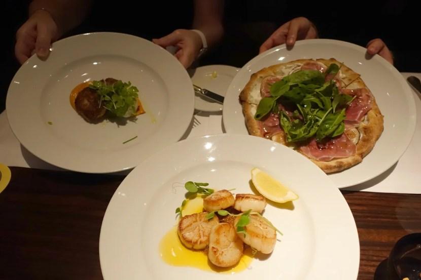 Dinner at New York Bar.