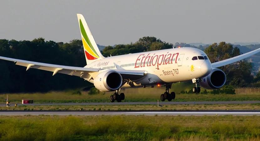Ethiopian Airlines flies Los Angeles to Dublin three times per week.