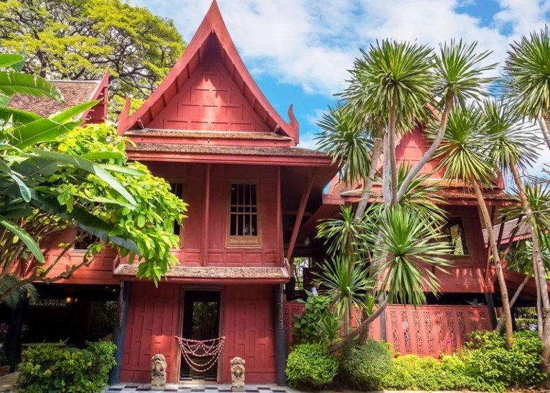 Make sure to pay the Jim Thompson museum a visit