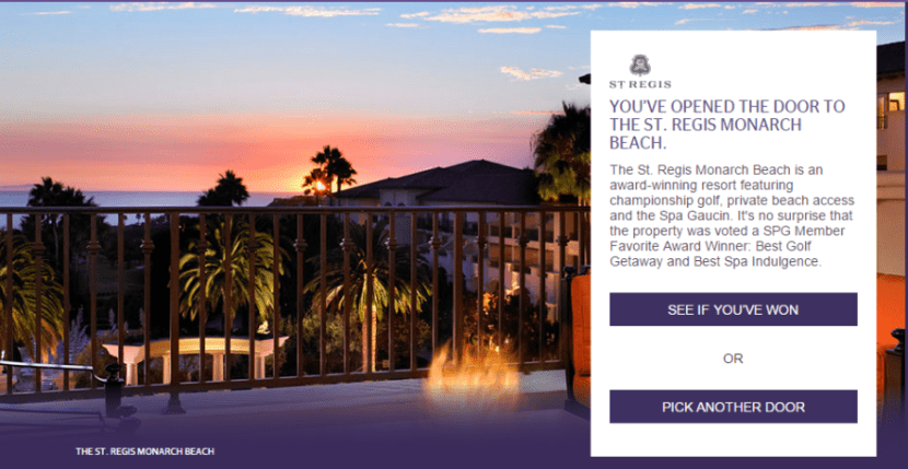 Win big with the Open the Door SPG online game