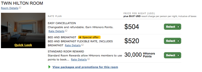 The Hilton Niseko Village was a fantastic property that offers a 1.68 cents per point redemption value.
