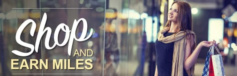 Shop via a portal to earn points and miles