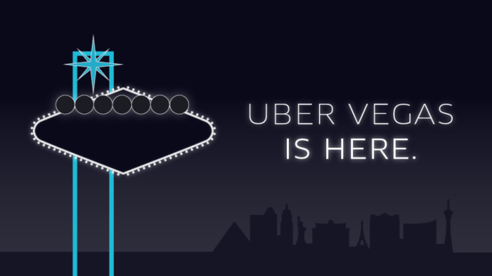 Uber has arrived to Las Vegas, Nevada