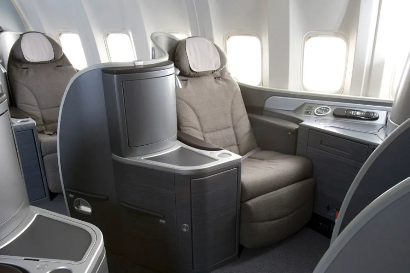United's Global First cabin.