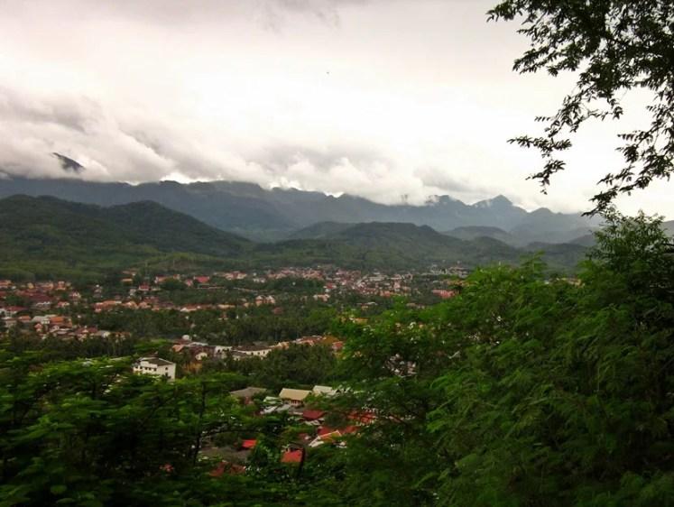 Luang Prabang from up top.