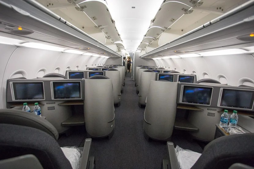 Touring American\u0027s A321T \u2014 First, Business and Economy