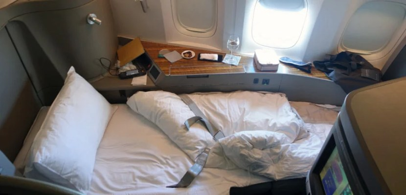 You can use AA miles towards a flight on Cathay Pacific.