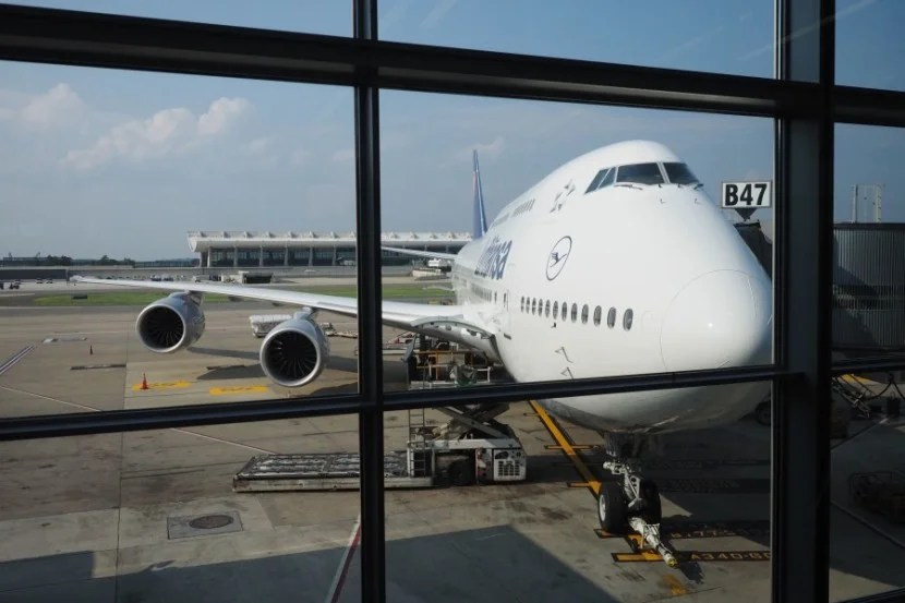 I love this Boeing 747-8