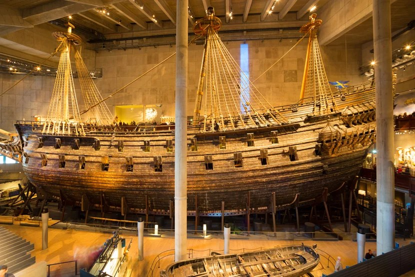 Sail back into the Viking era at Stockholm's amazing Vasa Museum. Photo courtesy of Shutterstock.