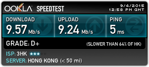 Wi-Fi performance was very good.