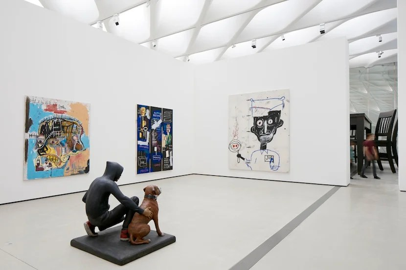 Inside one of the Broad's galleries. Photo courtesy of: The Broad. Photo credit: Bruce Damonte.