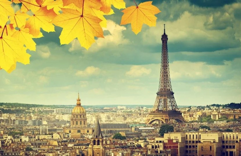 Who doesn't love fall in Paris? Photo courtesy of Shutterstock.