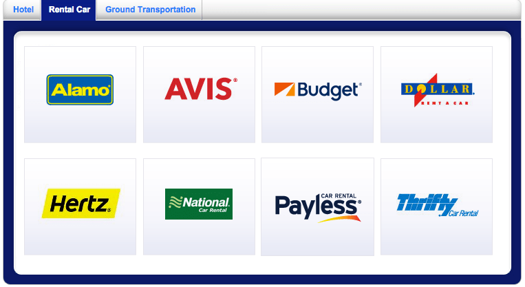 Southwest gives you 600 points per rental at each of these 8 car rental agencies.