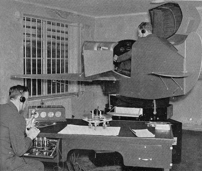 Simulator training in the 1950s
