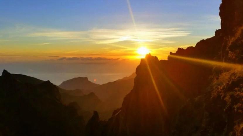 pico do arieiro sunrise