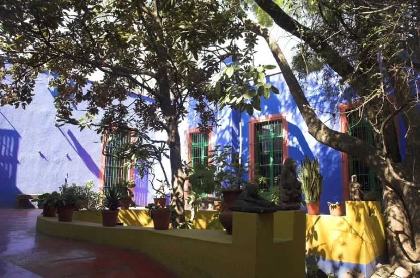 Frida Kahlo's former home is now a museum in the