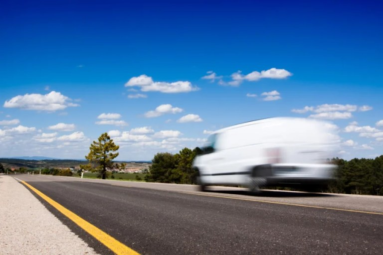 """There goes my """"van."""" Photo courtesy of Shutterstock."""